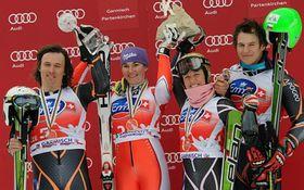 Ondřej Bank, Šárka Záhrobská, Lucie Hrstková, Kryštof Krýzl (left to right), photo: CTK