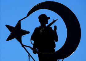 Полицейский в турецком Стамбуле (Фото: ЧТК)