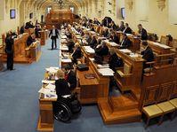Deux mois après la Chambre des députés, le Sénat a en effet voté, mercredi, en faveur de l'amendement à la loi constitutionnelle qui prévoit de modifier le mode d'élection du chef de l'Etat, photo: CTK