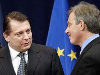 Йиржи Пароубек и Тони Блэр (Фото: ЧТК)