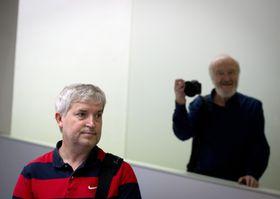 Tomki Němec (a la izquierda) y Bohdan Holomíček, foto: ČTK