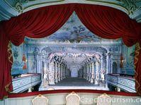 Le théâtre baroque de Cesky Krumlov