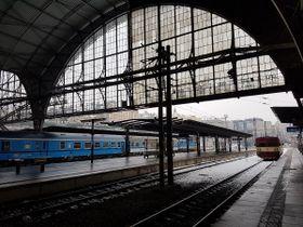 La gare central de Prague, photo: Ondřej Tomšů