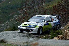 Roman Kresta en su Ford Focus (Foto: CTK)