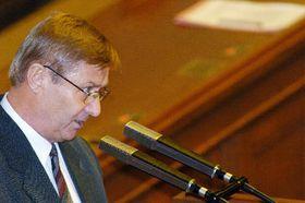 The communist party leader Miroslav Grebenicek, photo: CTK