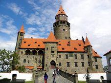 Burg Bouzov (Foto: Aleš Spurný, Archiv des Tschechischen Rundfunks)