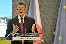 Ministr financí Andrej Babiš, foto: Filip Jandourek