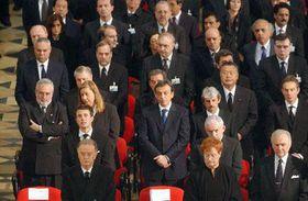 Memorial service in Madrid, photo: CTK