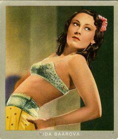 Плакат Лиды Бааровой