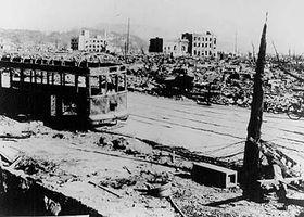 Hiroshima, 12 de agosto de 1945 (Foto: CTK)