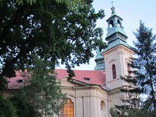 Kirche St. Johannes Nepomuk am Felsen (Foto: Martina Schneibergová)