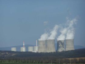 Mochovce nuclear power plant, photo: Peko, CC 3.0