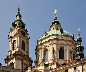 The Church of St. Nicholas in Prague's Lesser Town, photo: Jan Sommer, Wikimedia CC BY-SA 3.0