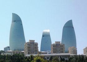 Bakou, photo : Interfase, Wikimedia Public Domain