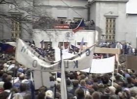 Генеральная забастовка, фото: «Чешское Телевидение»