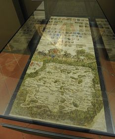 The Klaudian map of Bohemia, photo: CTK