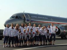 Czech women basketball team, photo: CTK