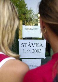 Escuelas checas permanecieron cerradas el primer día del año escolar, foto: CTK