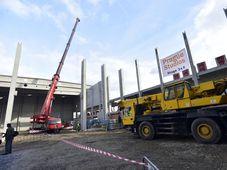 La société Prague Studios a entamé la construction de deux nouveaux ateliers de cinéma dans le quartier pragois de Letňany, photo: ČTK