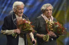 Eva Roubíčková y Markéta Nováková, foto: ČTK