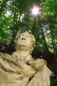 Goethe-Denkmal in Karlovy Vary (Foto: Kristýna Maková, Archiv des Tschechischen Rundfunks - Radio Prag)