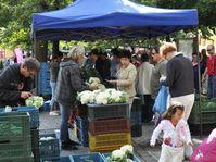 Bauernmarkt (Foto: Ladislav Bába, Archiv des Tschechischen Rundfunks)