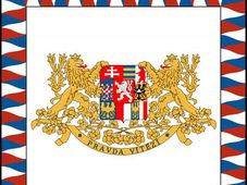 First Republic Presidential Flag bearing the motto: 'Truth Prevails', photo: Public Domain