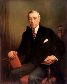 Woodrow Wilson (Foto: Public Domain)