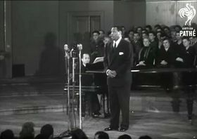Paul Robeson in Prague in 1949, photo: YouTube