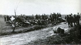 Le crash d'avion de Štefánik en mai 1919