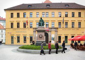 Österreichisches Kulturforum am Prager Jungmannplatz (Foto: Archiv ÖKF)