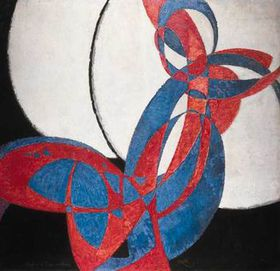 On display at the NG: Frantisek Kupka - Two-toned Fugue, 1912