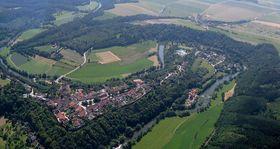 Thayaschleife in Drosendorf (Foto: Castagna, Wikimedia Commons, CC BY-SA 3.0)