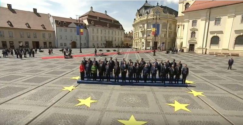 EU-Gipfel in Sibiu (Foto: YouTube)