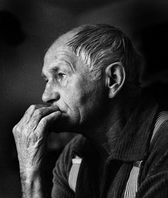 Bohumil Hrabal, photo: Hana Hamplová, CC BY-SA 3.0
