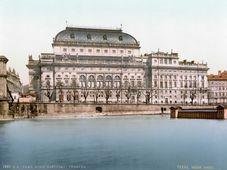 Národní divadlo, foto: Wikimedia Commons, Public Domain