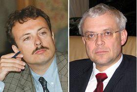 Milos Kuzvart y Vladimír Spidla