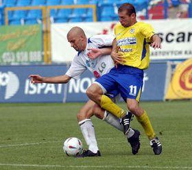 Остравский «Баник» проиграл на своем поле северо-чешскому клубу «Теплице» со счетом 1:2 (Фото: ЧТК)