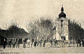 El palacio de Ctěnice