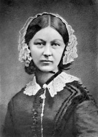 Florence Nightingale, photo: Henry Hering, Wikimedia Commons, CC0