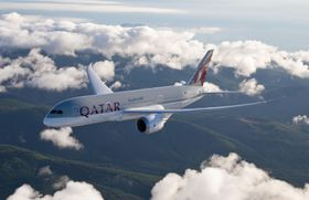 Boeing 787 Dreamliner, photo: ČTK/PR/Qatar Airways