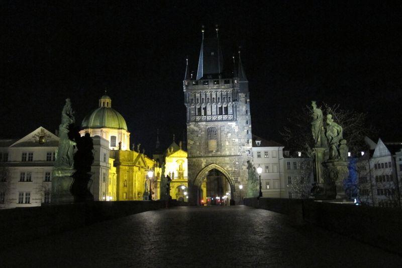 Praga por la noche, foto: Kristýna Maková/Praha křížem krážem