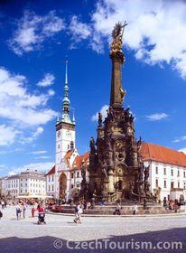 Trinity plague column, photo: CzechTourism