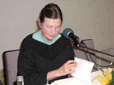 Spisovatelka Věra Linhartová
