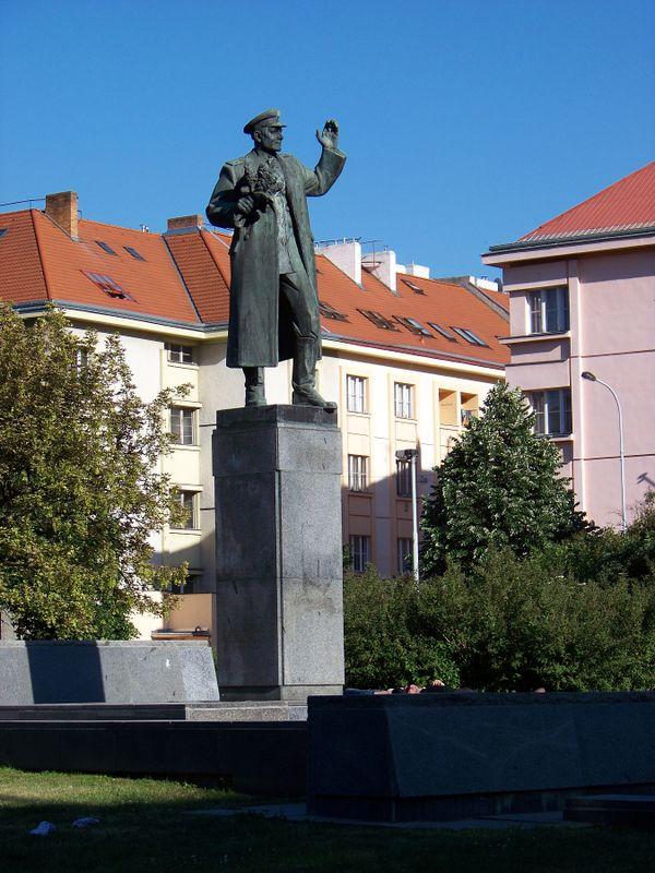 Monumento al mariscal ruso Iván Kónev, Praga, foto: Šjů, CC BY-SA 3.0