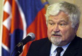 El ex-presidente del Senado checo, Petr Pithart (Foto: CTK)