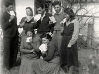 Jewish teenagers from Czechoslovakia in Denmark in 1939, photo: archive of Judita Matyášová
