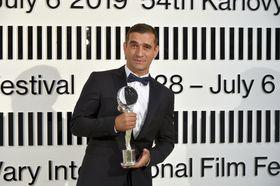лауреат фестиваля актер Милан Ондрик (Словакия), фото: ЧТК/Slavomír Kubeš