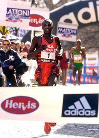 El corredor keniano, Fred Kiprop, foto: CTK