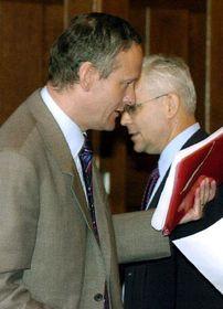 Цирила Свободы и Владимир Шпидла (Фото: ЧТК)
